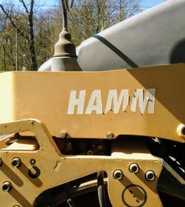 """Pinnwanndeintrag Bild Maschine mit Beschriftung """"Hamm"""""""