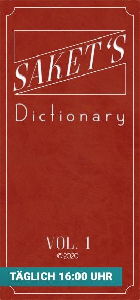 Link zu Saket's Dictionary