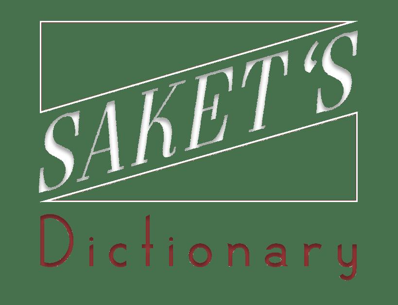 Programmpunkt Saket's Dictionary